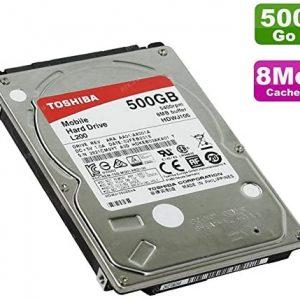 HARD DISK 500GB 2.5 HDWJ105 TOSHIBA
