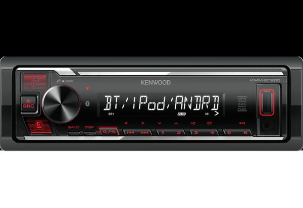 AUTO RADIO KENWOOD KMM-BT205