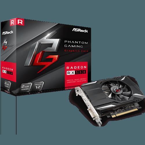 GRAFIČKA KARTA VGA PCIE ASROCK PHANTOM RX550 2GB
