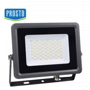 LED REFLEKTOR 50W LRF020EW-50/BK PROSTO