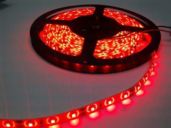 LED TRAKA 5050-60 CRVENA BEZ ZAŠTITE XLED