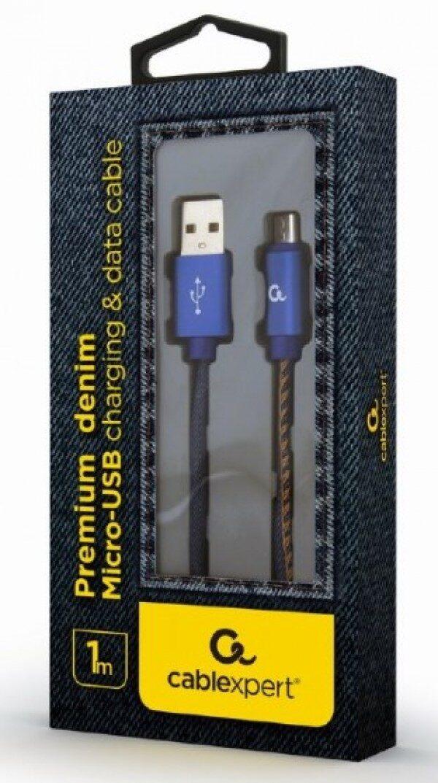 KABL MICRO-USB 1M JEANS