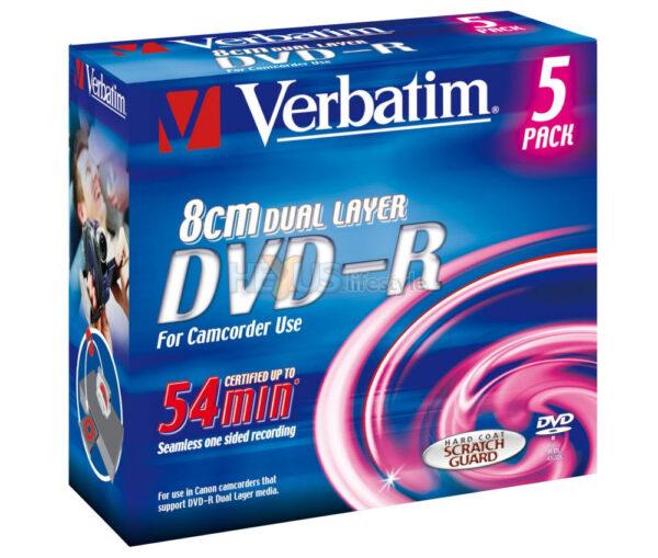 DVD-R 8CM DUAL LAYER VERBATIM