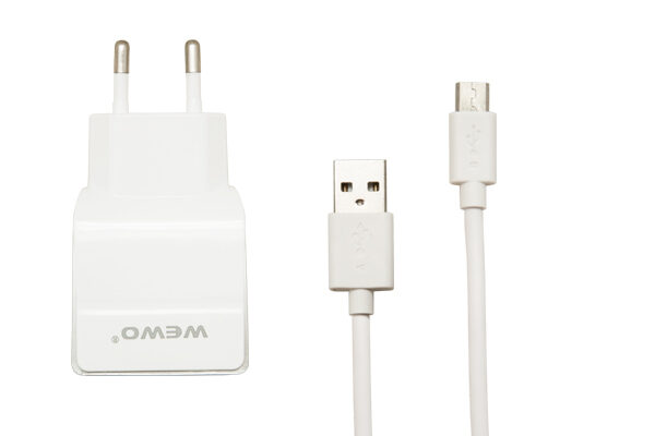 PUNJAČ W-004 USB 1000MA MICRO