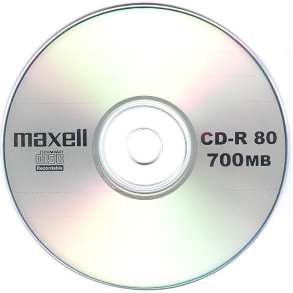 CD-R MAXELL 700 MB