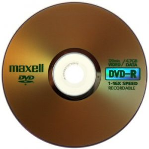 DVD-R 4.7GB MAXELL