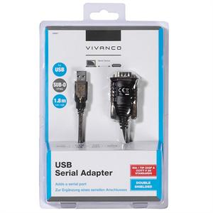 KABL USB-RS232 1.5m VIVANCO