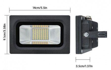 LED REFLEKTOR 15W SPEKTRA LRSMDA3-15 6500K