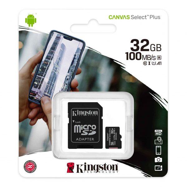 MEMORIJSKA KARTICA SDCS2/32GB 32GB SA ADAPTEROM KINGSTON