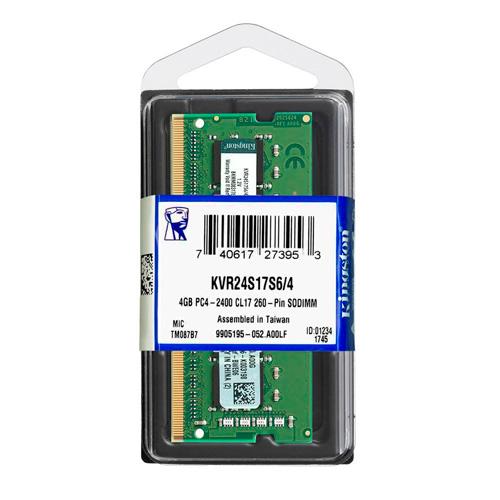 RAM MEMORIJA KINGSTON KVR24S17S6/4 4GB DDR4 SODIMM