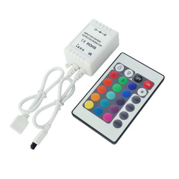 LED RGB KONTROLER 1RGB-IR24