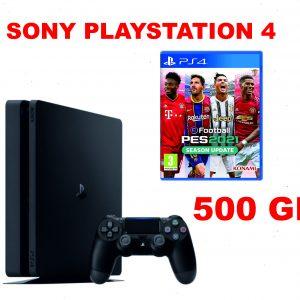 SONY PLAYSTATION PS4 500GB SLIM + PES 21