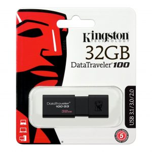 FLASH USB KINGSTON 256 GB DT100G3 256GB