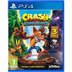 IGRICA ZA PS4 CRASH BANDICOOT N. SANE TRILOGY 2.0