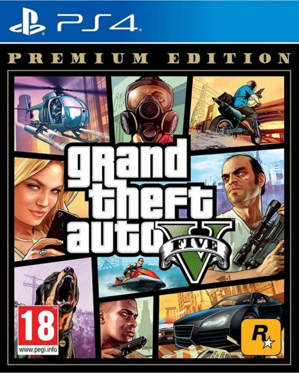IGRICA ZA PS4 GRAND THEFT AUTO 5 PREMIUM EDITION