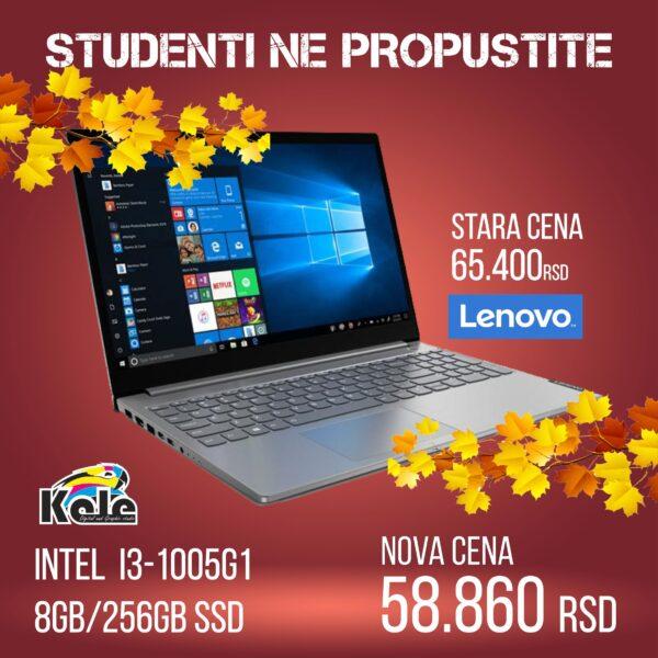NOTEBOOK LENOVO V15-IIL INTEL I3 1005G1 82C500GKYA