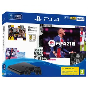 SONY PLAYSTATION PS4 SLIM+DS4+FIFA 21