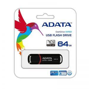 FLASH USB ADATA 64 GB AUV150-64G-RBK