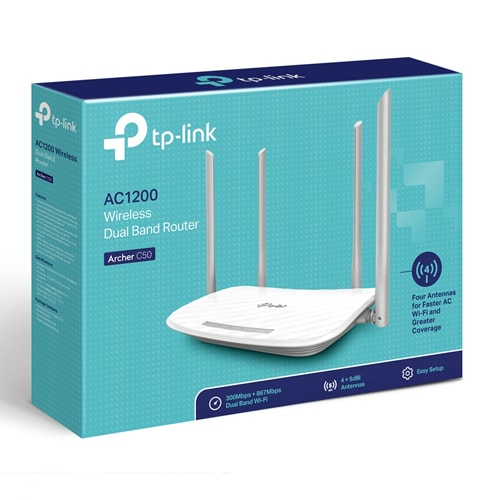 RUTER WIRELESS TP-LINK ARCHER C50
