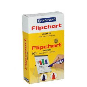 MARKER FLIPCHART CRVENI OKRUGLI CP85500104