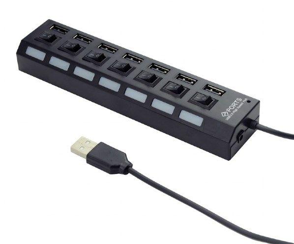 USB HUB GEMBIRD UHB-U2P7-03