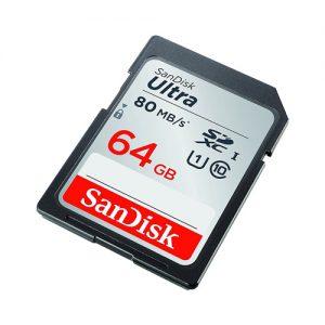 MEMORIJSKA KARTICA SANDISK ULTRA 64GB SDSDUNR-064G-GN6IN