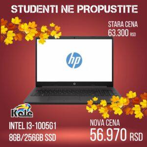 NOTEBOOK HP 250 G8 27K02EA i3-1005G1/8GB/256GB