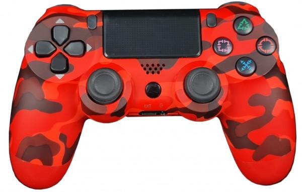 GAMEPAD JPD WIRELESS PC/PS4 RED CAMO