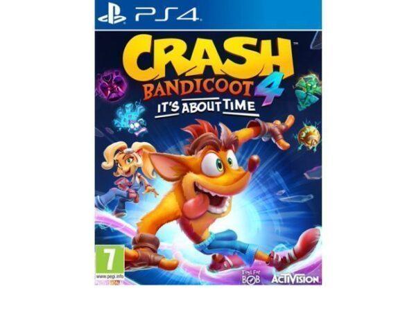 IGRICA ZA PS4 CRASH BANDICOOT 4 ITS ABOUT TIME