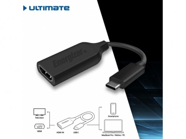 ADAPTER USB C - HDMI/Ž ENERGIZER ULTIMATE HC3HDMI