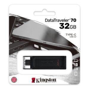 FLASH USB KINGSTON 32 GB DT70/32GB
