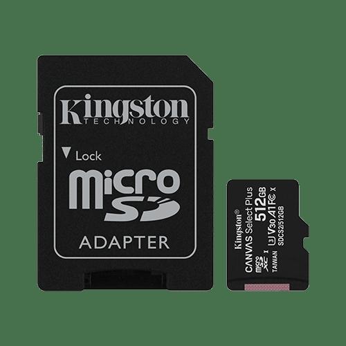 MEMORIJSKA KARTICA KINGSTON 512GB SDCS2 + ADAPTER