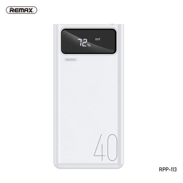POWER BANK REMAX MENGINE RPP-113 40000MAH