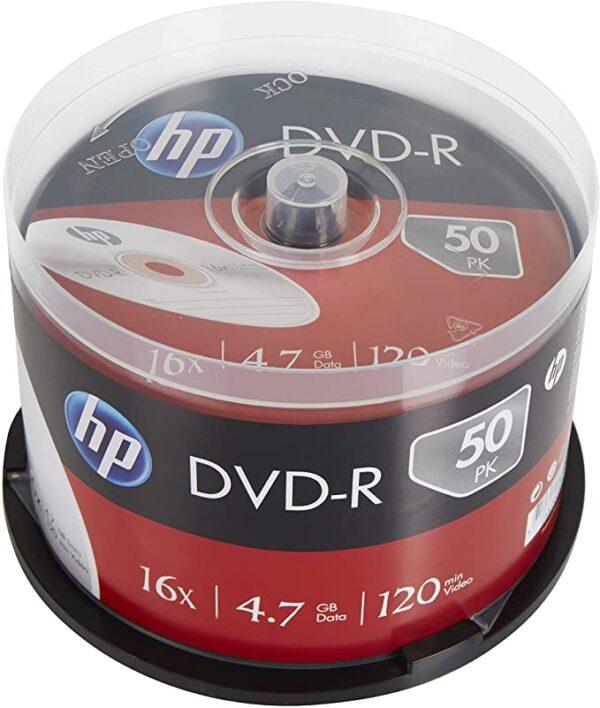 DVD-R PRINTABLE HP 50 BULK