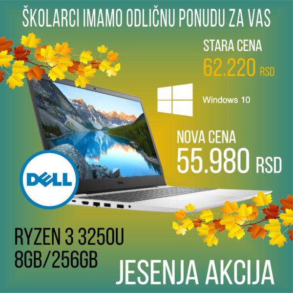 NOTEBOOK DELL OEM INSPIRATION 3505 NOT18189 RYZEN3250U/8GB/256GB/WIN10HOME