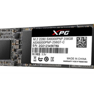 SSD M.2 256GB ASX6000PNP-256GT-C A-DATA