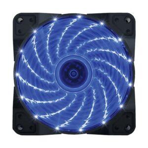 VENTILATOR 120X120 ZEUS BLUE LED LIGHT