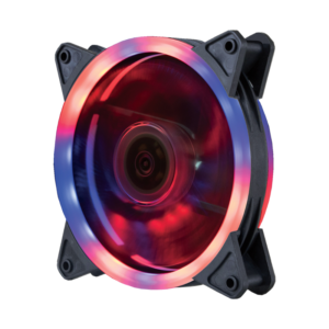 VENTILATOR 120X120 ZEUS DUAL RING RGB FAN